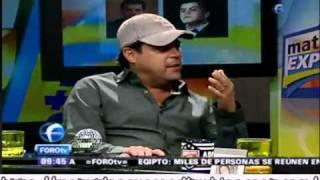 """Jorge """"el Burro""""  Van Rankin alias Nico en Matutino Express FOROtv"""