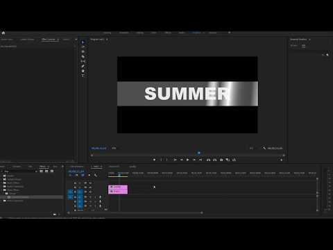 Adobe Premiere Pro - Track Matte Key Fix