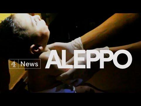 Inside Aleppo: after the bombing, one family's heartbreak
