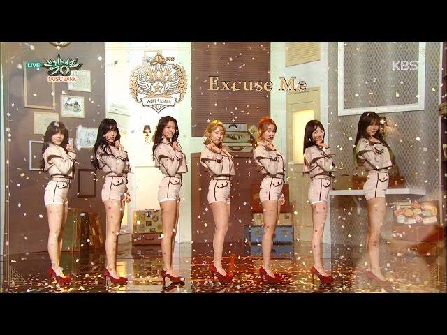 뮤직뱅크 Music Bank - 에이오에이 - 빙빙 + 익스큐즈 미 (AOA - Bing Bing + Excuse Me).20170106