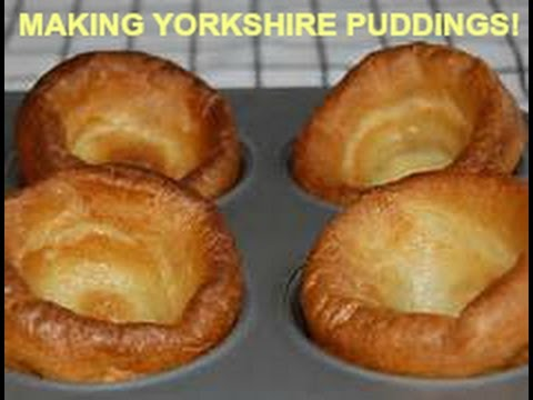 FOOD: Making Authentic Yorkshire Puddings - Step-by-Step