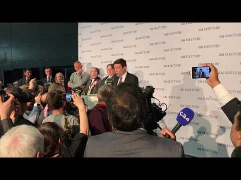 Andy Burnham Greater Manchester Mayor Victory Speech