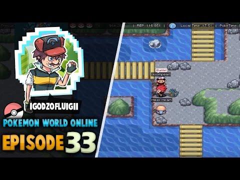 """Pokemon World Online - Episode 33 """"Cinnabar Tunnel"""""""