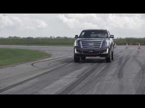 HPE800 Supercharged Cadillac Escalade Track & Dyno Testing