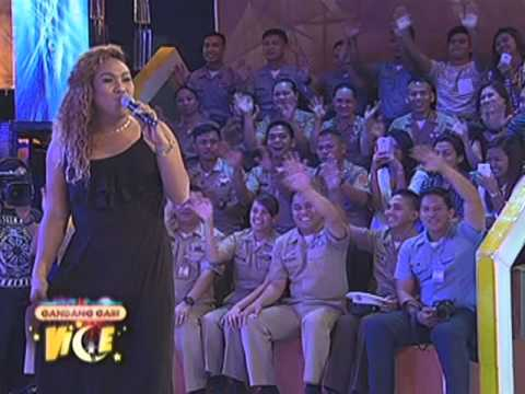 "Negi impersonates Renz Verano's ""Remember Me"" on GGV"