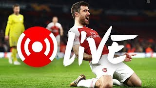 Arsenal 3 - 0 BATE Borisov (3-1 agg) | Arsenal Nation LIVE: Analysis