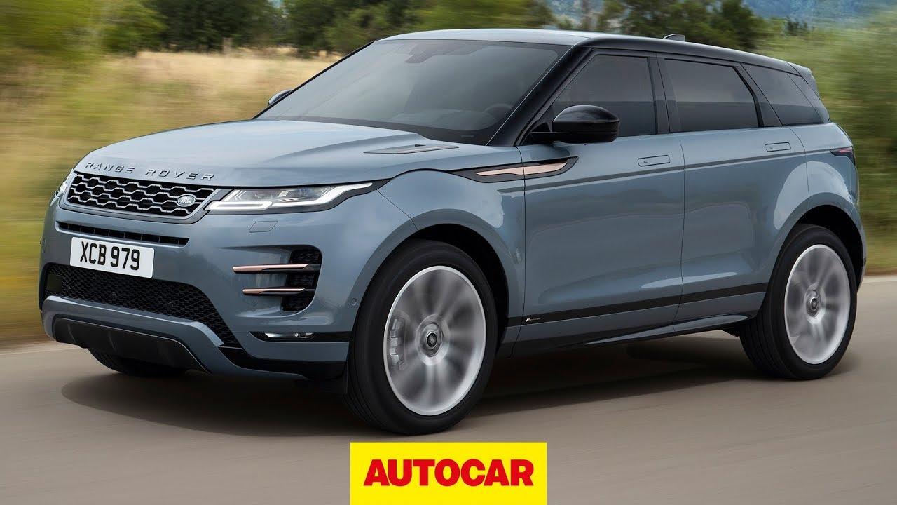 2019 range rover evoque revealed detailed lowdown on new suv autocar