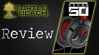 #TurtleBeach Earforce Recon 50 Headset Review #XboxOne #PS4 #PC