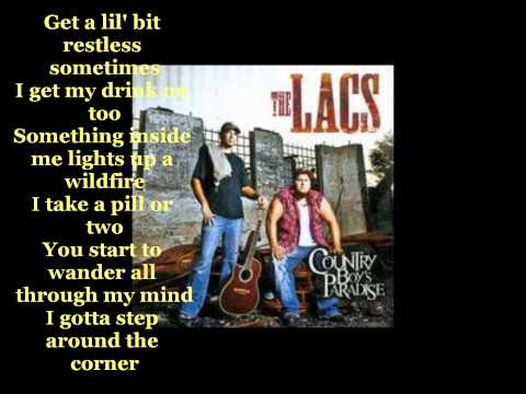 The Lacs  Left Of Me Lyrics