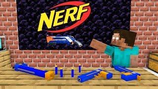 Школа монстров: вызов NERF WAR - Minecraft анимация