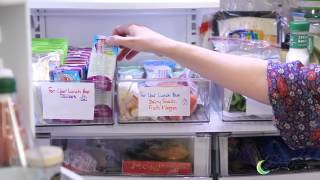 Back to School: How to Organize the Fridge for Fast Lunch Making
