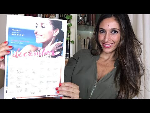 December Workout Calendar Susana Yábar