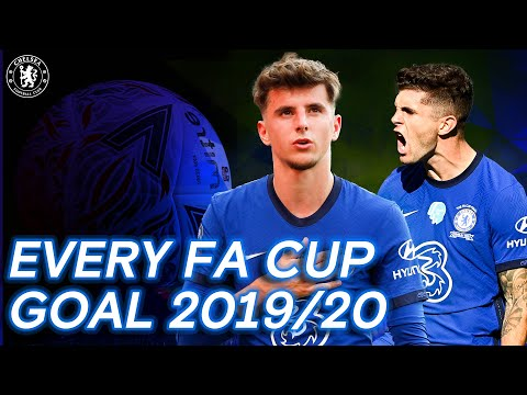 Every FA Cup Goal | Mount, Pulisic, Giroud & More | FA Cup 2019/20