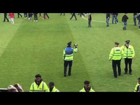 Leyton Orient FC Pitch Invasion and Protest, 29th April 2017 ~ vs Colchester United FC