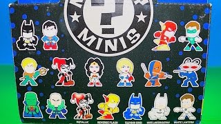 dc comics justice league mystery minis full blind boxed opened