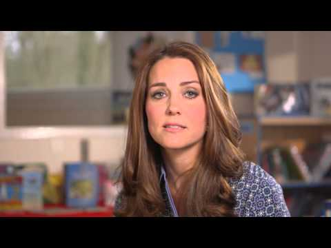 A video message by The Duchess of Cambridge for the UK's first Children's Mental Health Week