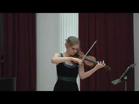 Menuhin Competition Repertoire 2010: Partita fur Paul, by Arne Nordheim