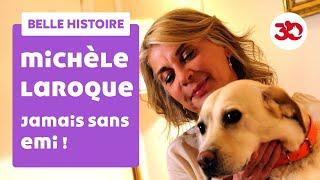 Michèle Laroque et sa chienne répondent à 30 Millions d'Amis