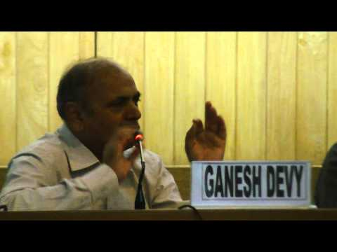 all good things remains: Dr Ganesh Devy Part 02