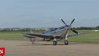 Silver Spitfire  - The First Flight *4k*