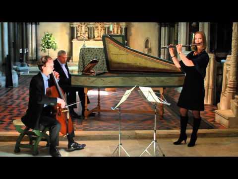 JS Bach - Flute Sonata in C major BWV1033