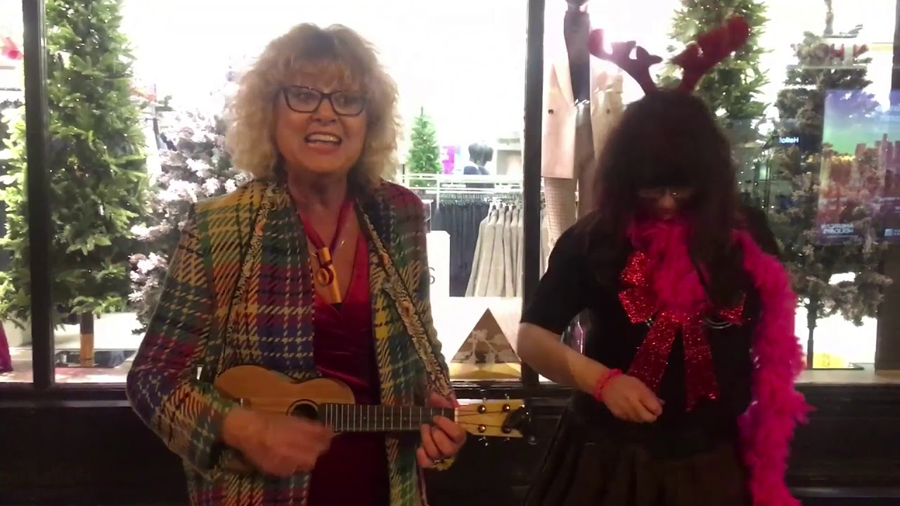 'Running Away From Xmas' performed by Andrea and the Covenettes