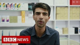 Hong Kong protests: 'I was born here, I'm a Hongkonger too' - BBC News