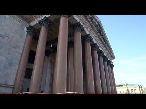 Загадочный Исаакий. Экскурсия по Исаакиевскому собору. Гранитные колонны.