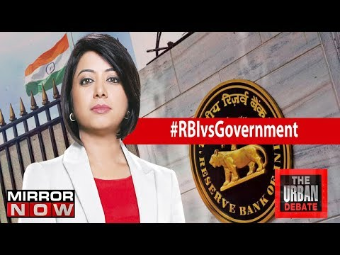 RBI vs Government meet ends, What does it mean for RBI?   The Urban Debate With Faye D'Souza