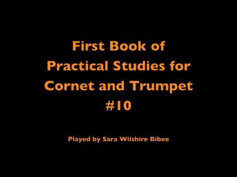 Getchell Hovey First Book of Practical Studies for Cornet or Trumpet #10
