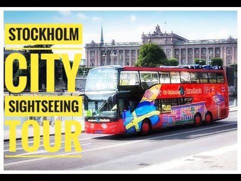 STOCKHOLM   SWEDEN CITY SIGHTSEEING TOUR