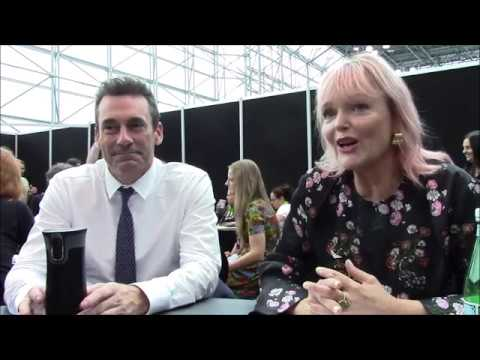 'Good Omens'  Jon Hamm and Miranda Richardson  NYCC