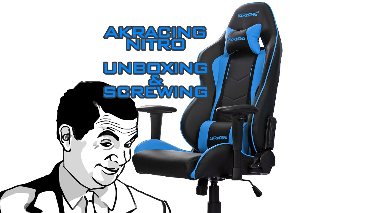 Akracing Nitro Gaming Chair Unboxing Amp Assembly Youtube