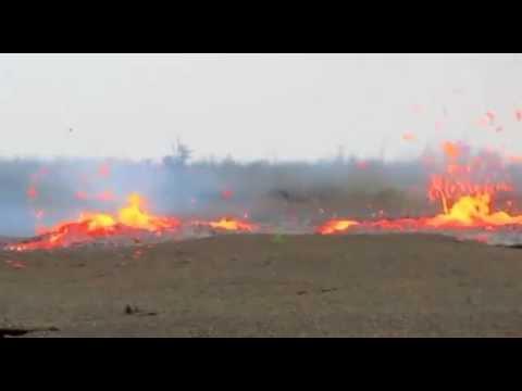 New volcano fissure erupting in Hawaii