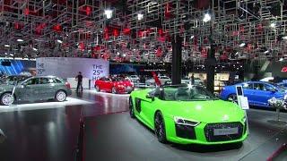 Les voitures électriques, stars du Salon de l'automobile de Francfort