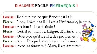 Dialogue facile en français 1