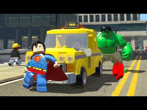 LEGO Marvel Super Heroes EXTRAS #53 - SUPERMAN TAXISTA