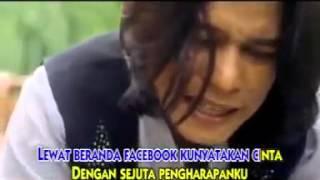 video muzik (Cinta lewat facebook)