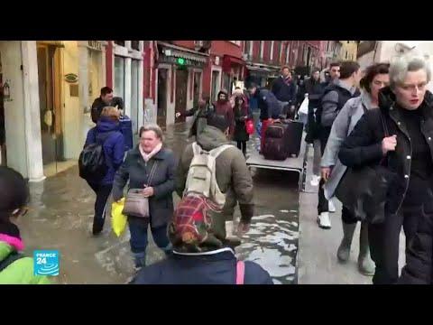 فيضانات غير مسبوقة تجتاح مدينة البندقية الإيطالية  - نشر قبل 25 دقيقة