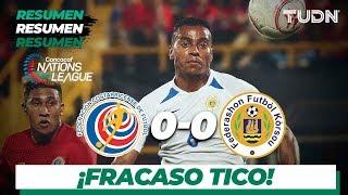 Resumen | Costa Rica 0 - 0 Curazao |  CONCACAF Nations League   TUDN