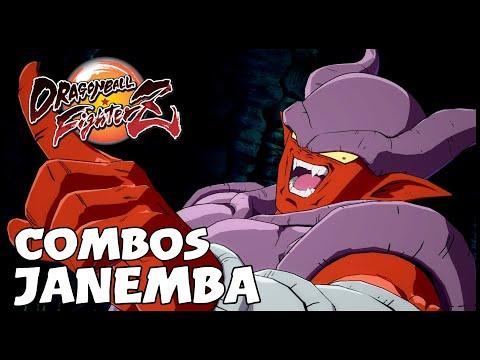 Dragon Ball FighterZ : New Dlc JANEMBA Combos Maj 1 18