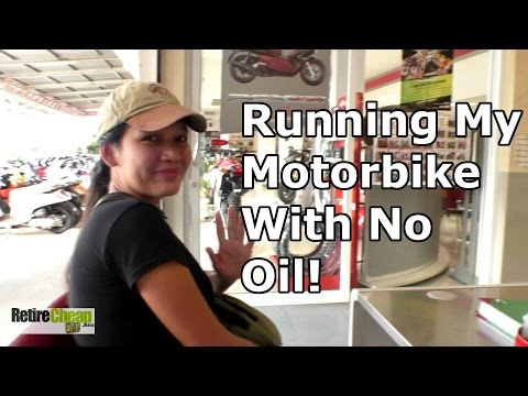 TImyT 009 - Maybe Oil In a Motorbike Is Only an Option! 🔧