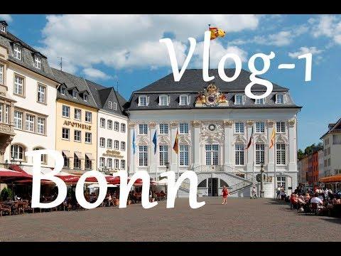 Bonn City Tour - Kicik Qəzinti - Centrum - Uni Bonn - Huma Mall - Sankt Augustin - Germany - VLOG-1