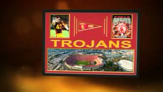 Southern California Trojans team stadium,Players Prints &, Sports Art, Memory Mats