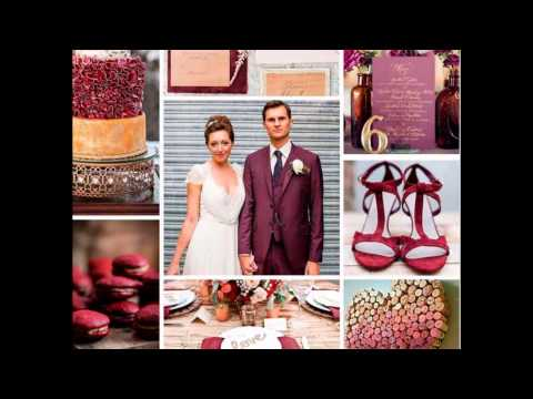 Wedding,color Marsala 2015.