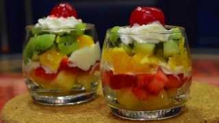 Easy Steps Fruit Salad