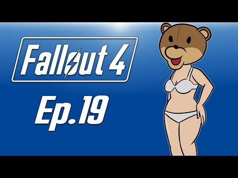 Delirious plays Fallout 4! Ep. 19 (TEDDY BEAR HEAD!) Back to SAW MAZE!