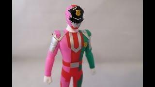 Sentai Hero Series Patren Ugou Figure (Lupinranger VS Patranger)