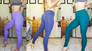 LULULEMON DUPE HAUL | $20 AMAZON LEGGINGS REVIEW