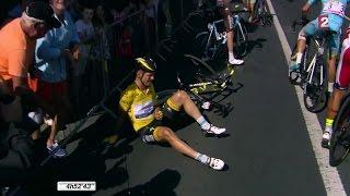 VIDÉO – 6e étape : Tony Martin fait tomber Vincenzo Nibali